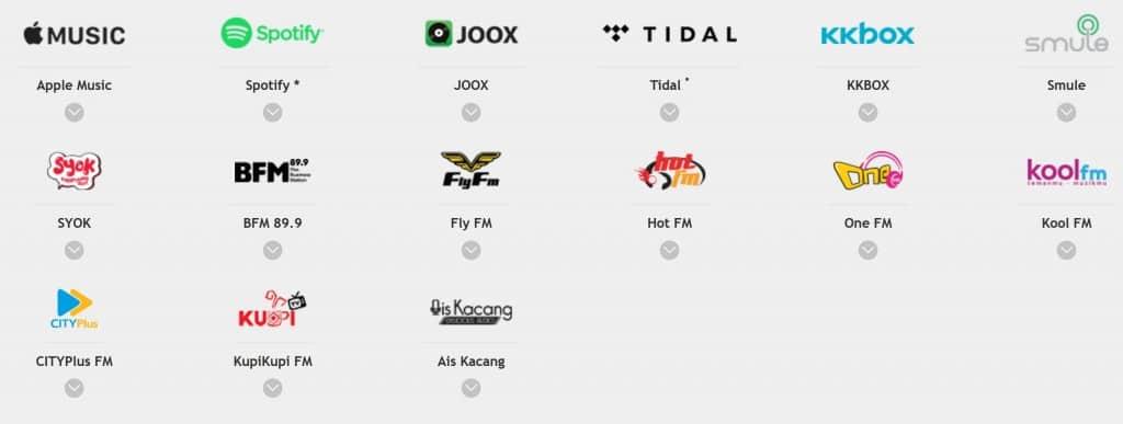 U Mobile Music Onz Apps