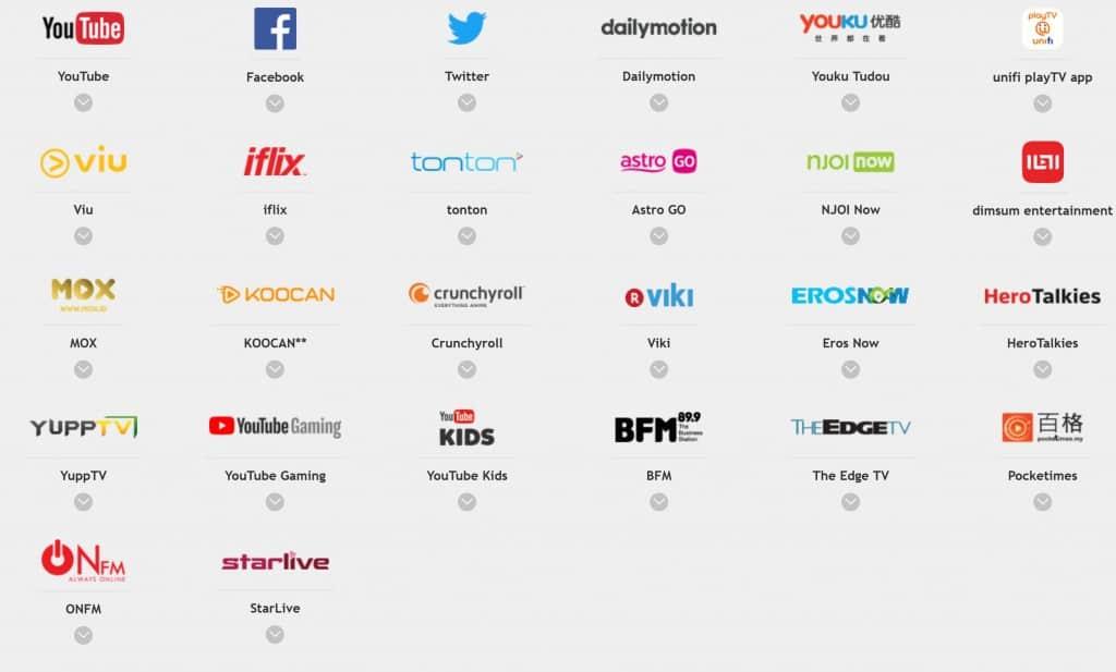 U Mobile Video Ons Apps
