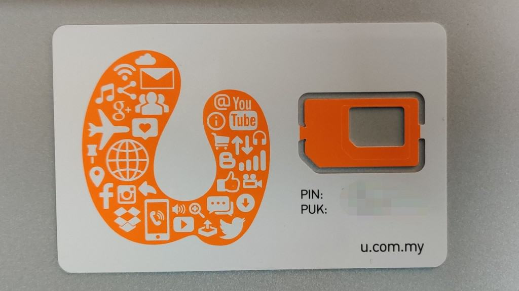 U Mobile SIM Card