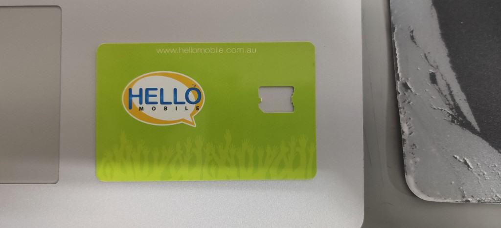 Hello Mobile Nano SIM Card Holder
