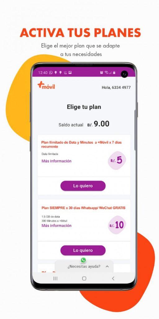 Cable & Wireless +movil Mi Más App