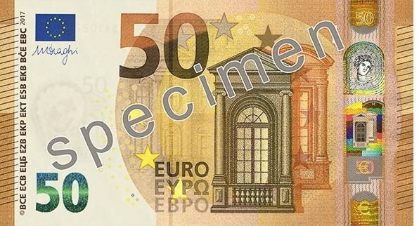 50 Euro Bank Note