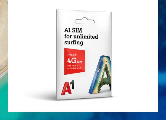 A1 Croatia Tourist SIM Card