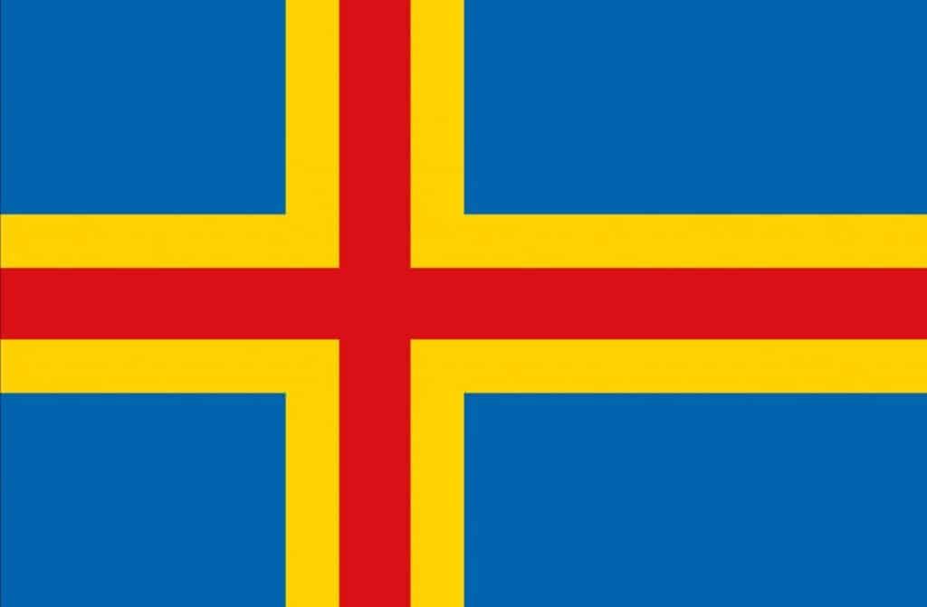 Flag of the Aland Islands