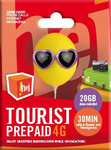 HT Eronet !hej Tourist SIM Card