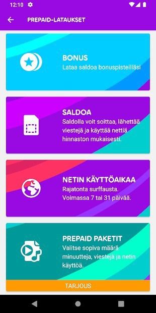 Telia Finland App