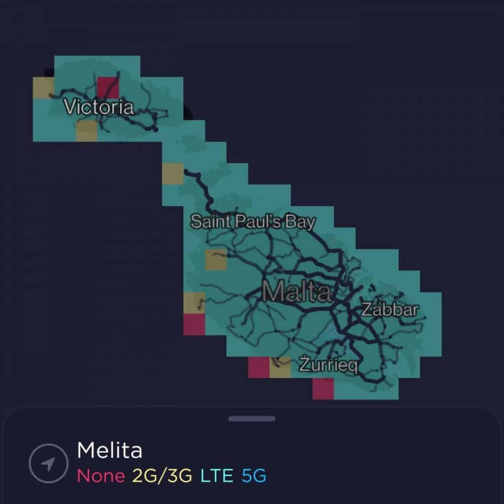 Melita Coverage Map