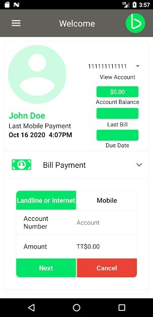 My bmobile App