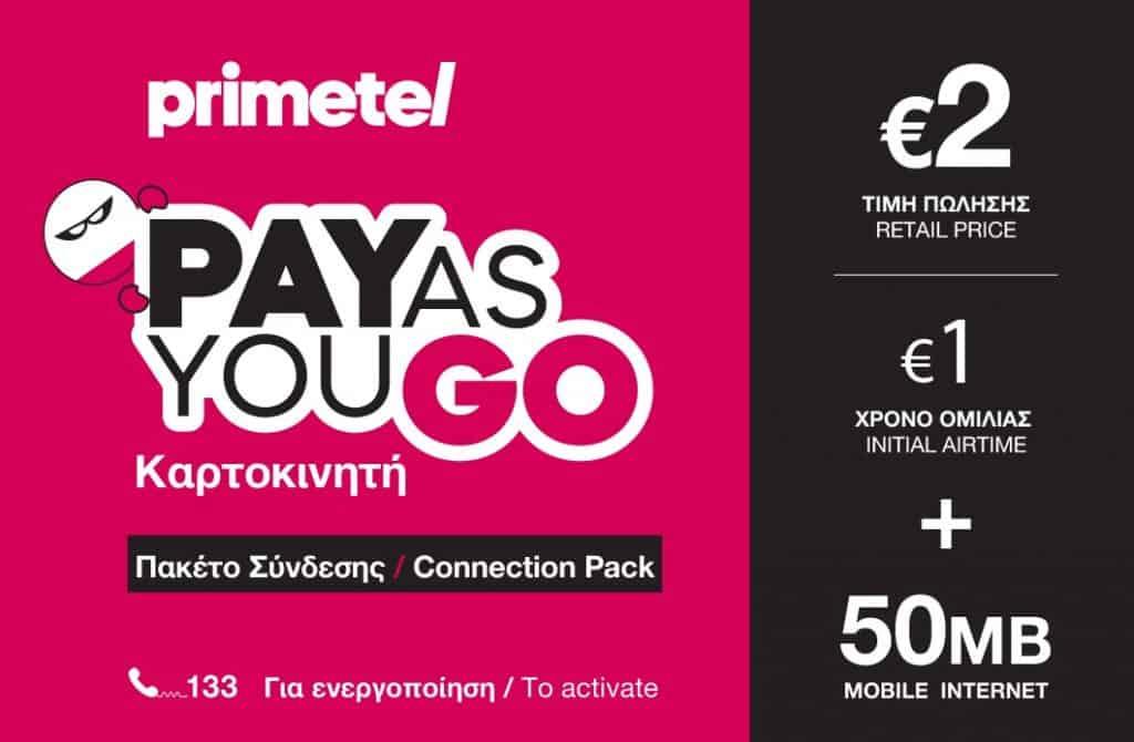 PrimeTel SIM Card