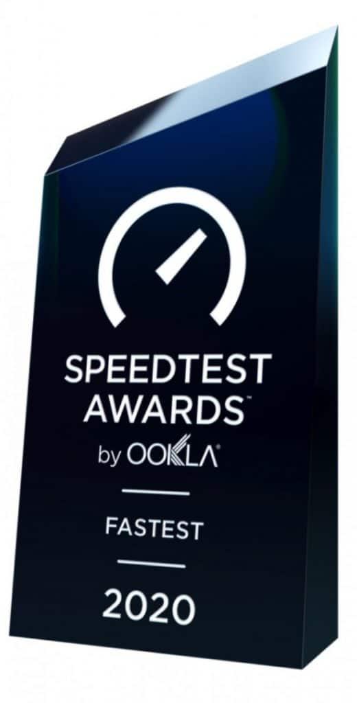 Speedtest Awards Fastest Mobile Network 2020