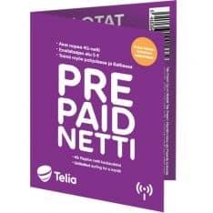 Telia Finland Prepaid SIM Card