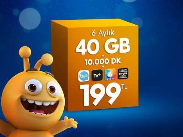 Turkcell Dev Paketler