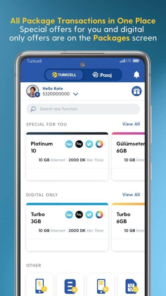 Turkcell Dijital Operatör App