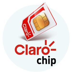 Claro Chip SIM Card