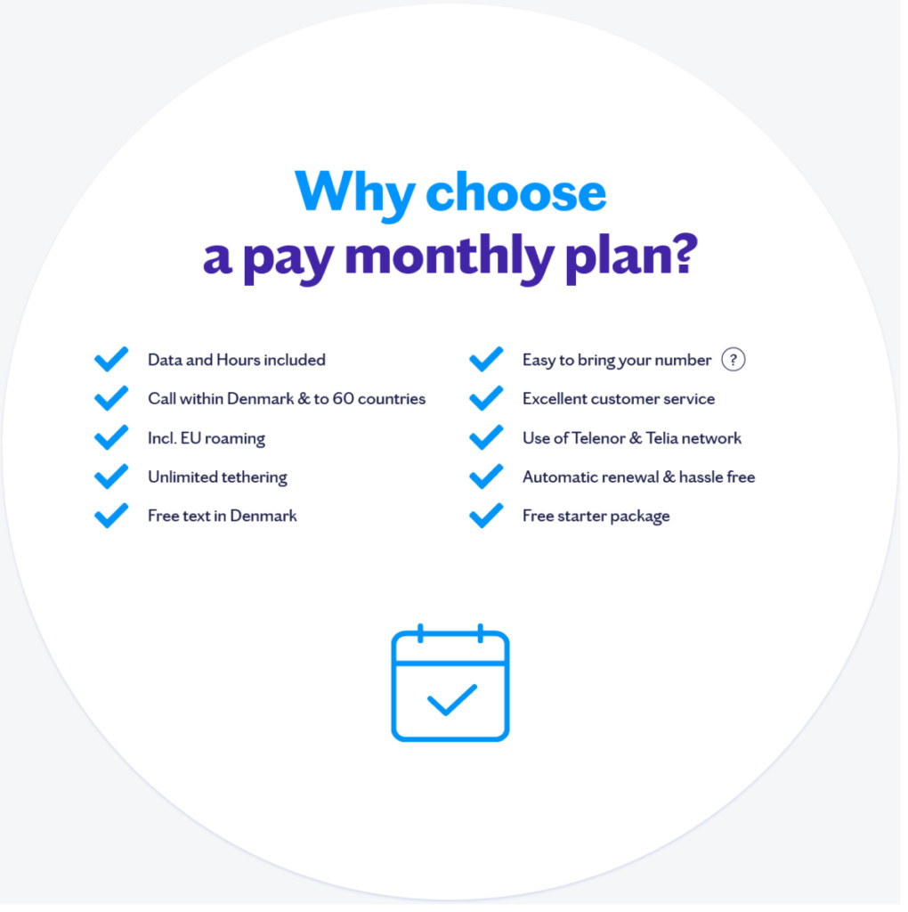 Lebara Denmark Why Choose a Pay Monthly Plan