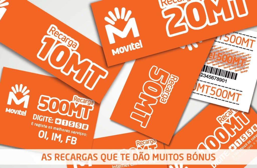Movitel Mozambique Top-Up Cards