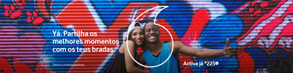Vodacom Mozambique YÁ Banner